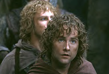 Merry: Withywindle! Pippin: It's only a river. Frodo: Shh! My dear friends.